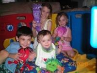 Matthew age 6, Mitchell 7 months, MacKenzie age 8, Miranda 2