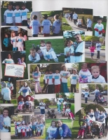 Cystic Fibrosis Walk 2010 HUGGEE MISS YOU was there to help!
