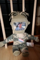 Thank goodness for operation Give A Hug's donation doll!